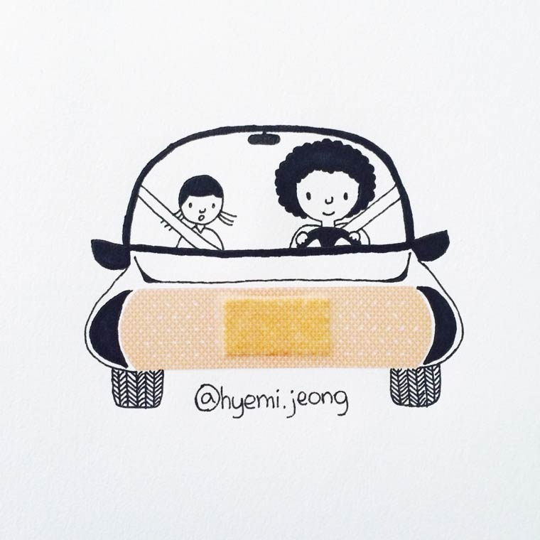 hyemi-jeong-illustration-car
