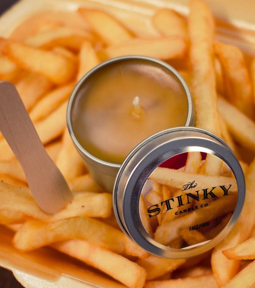 frites-stinky-bougies-parfumees-originales