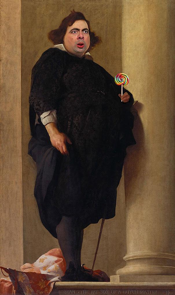 image-mr-bean-rowan-atkinson-historic-portraits-recreations-rodney-pike-4