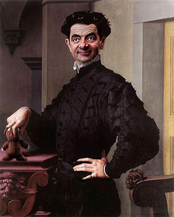 image-mr-bean-rowan-atkinson-historic-portraits-recreations-rodney-pike-6