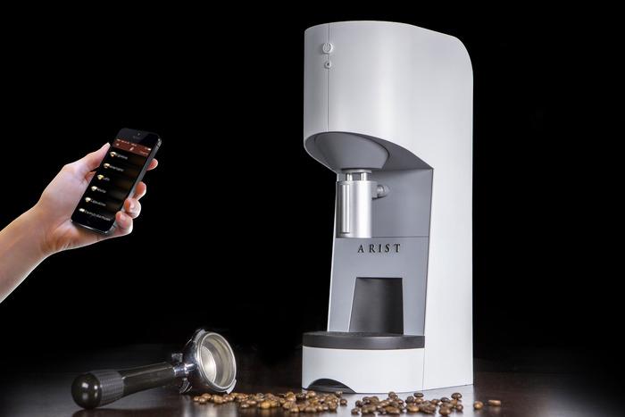arist machine à café connectée