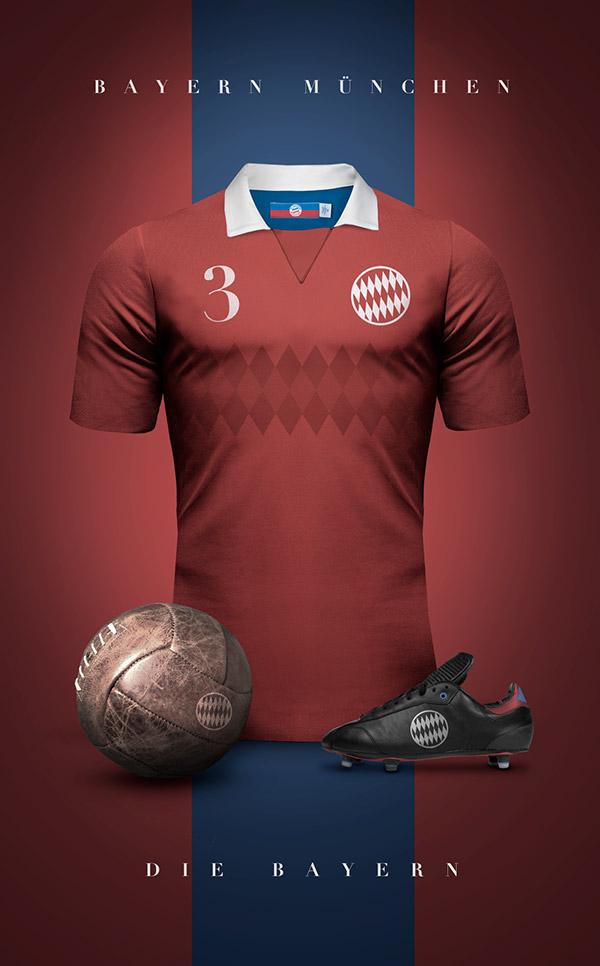 Emilio-Sansolini-maillot-vintage-Bayern-Munich
