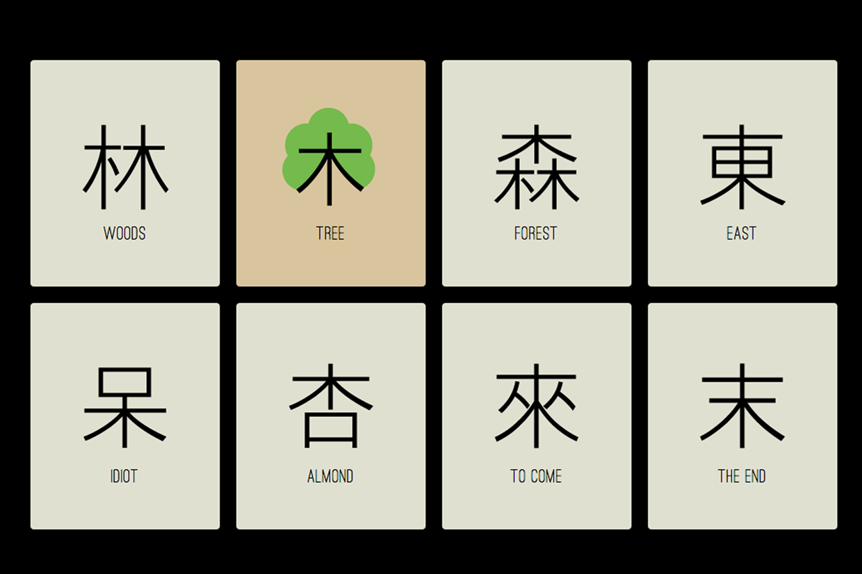 Chineasy_Tree