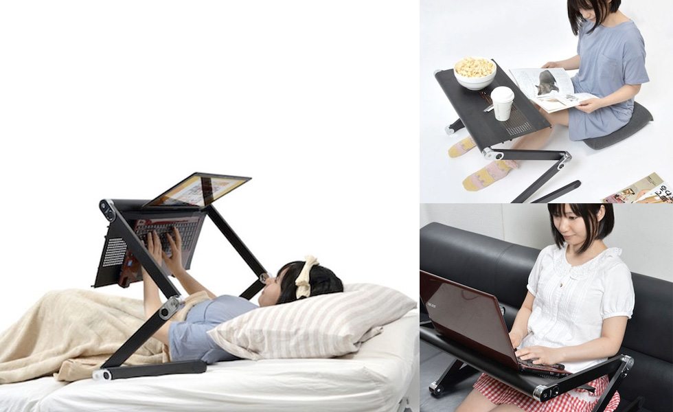 Super-Gorone-Desk-Device-which-Provides-Comfortable-Lying-and-Sitting-Positions-with-a-Laptop