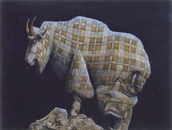 Tartan-Animals-Paintings-sean-landers-ram-580x438