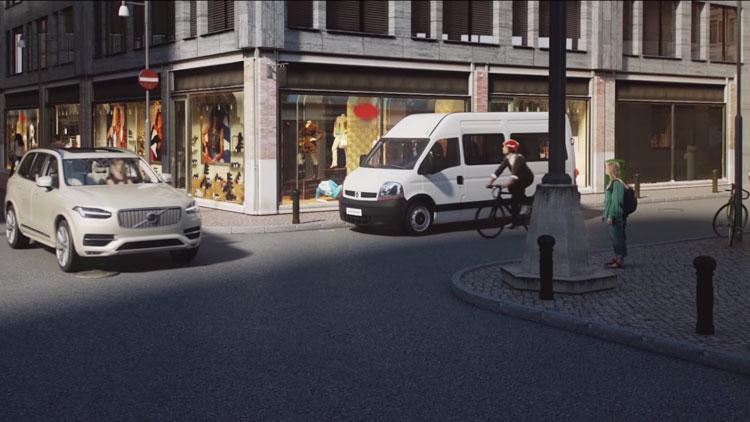 Volvo présente un casque connecté pour les cyclistes