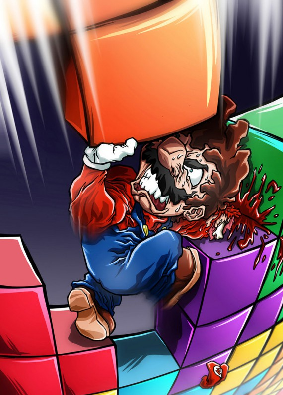 tetris combat illustré
