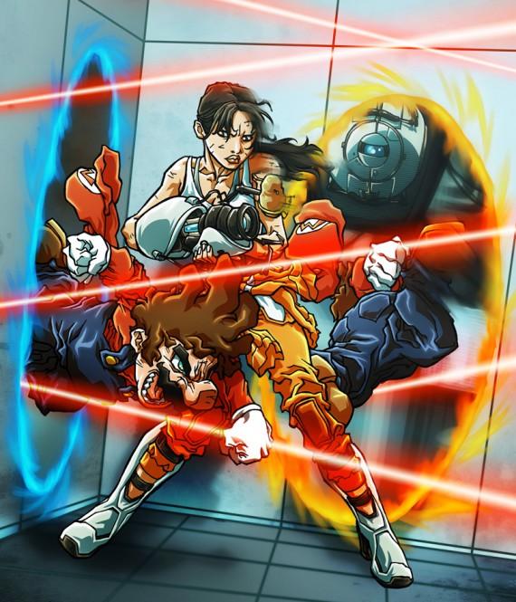 portal combat illustré