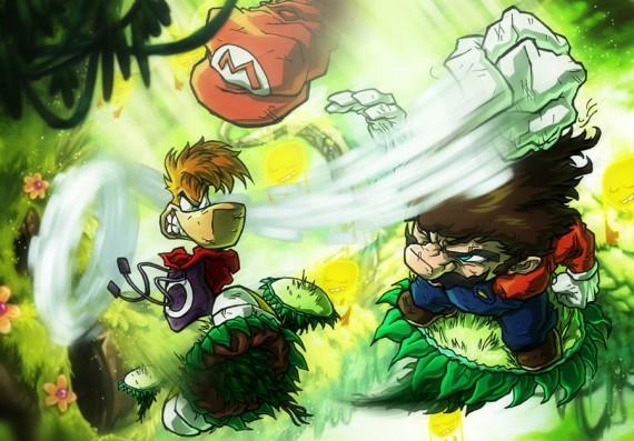 rayman combat illustré