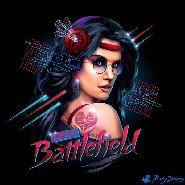 playlist_années_80_love_is_battlefield