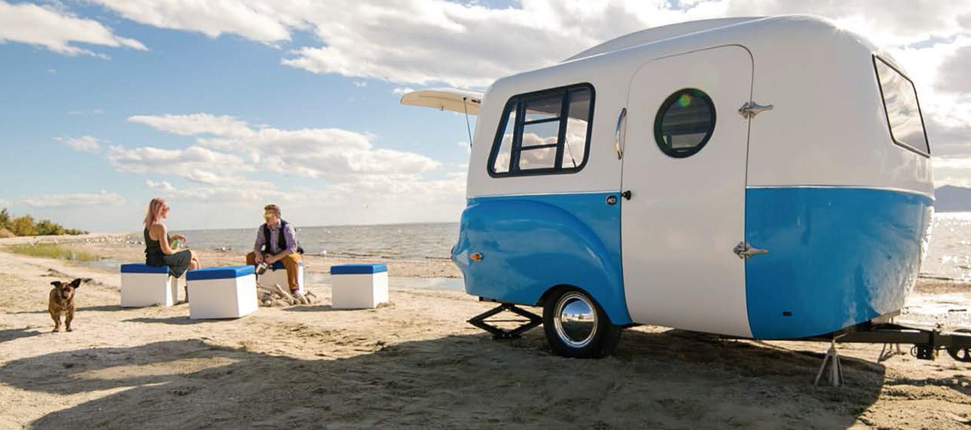 Adaptiv la caravane modulable d 39 happier camper for Salon de la caravane