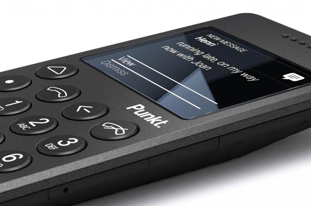 Punkt MP 01 téléphone basique