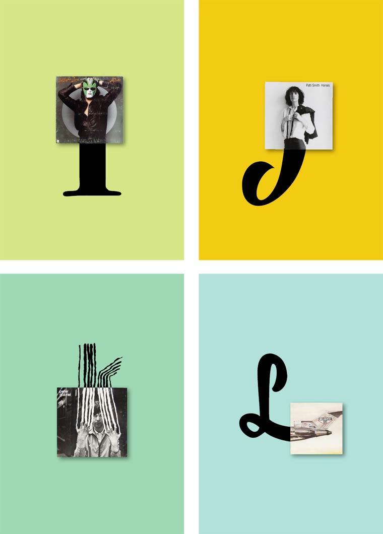 Vinyls Alphabet De La Musique Et Du Caract 232 Re