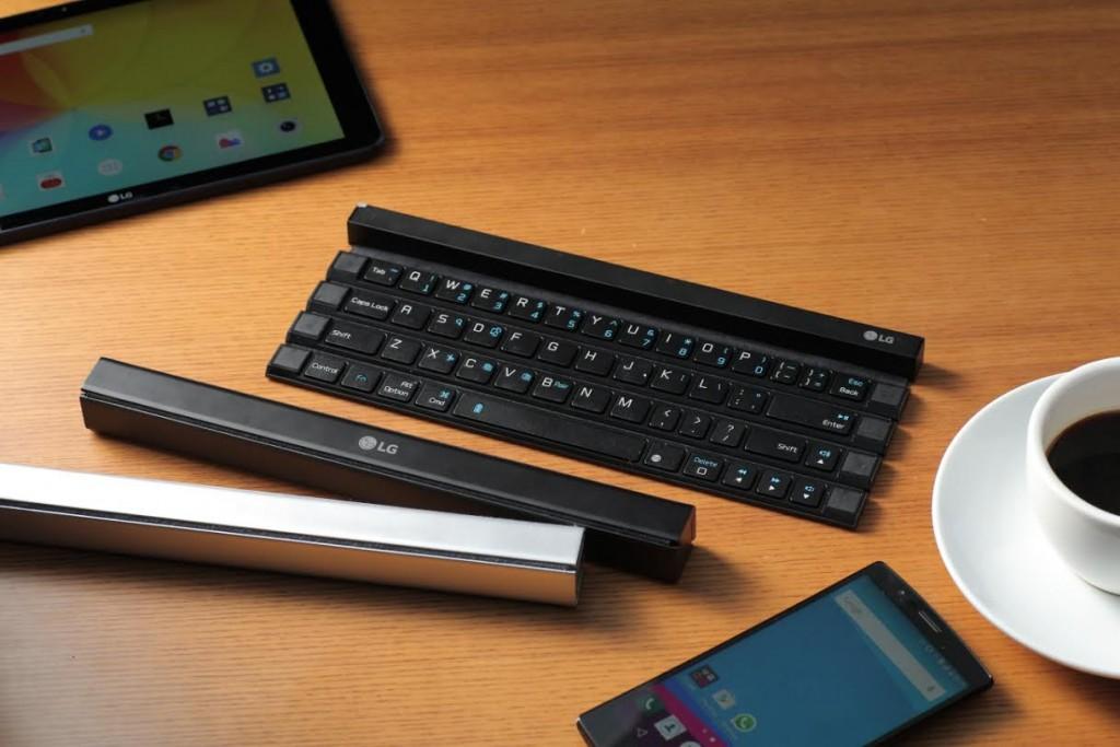 LG Rolly keyboard clavier bluetooth portable