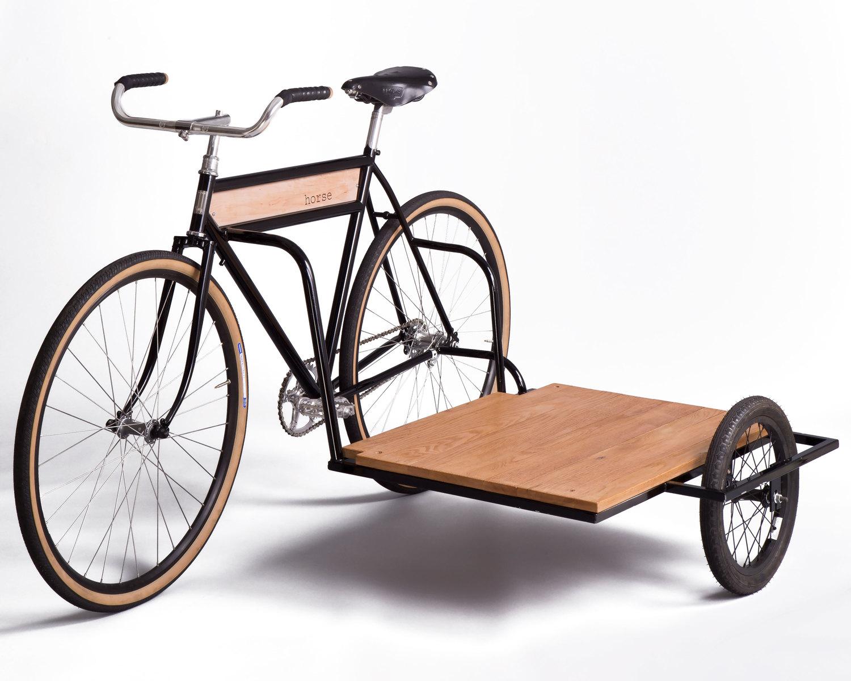 un v lo side car pour transporter des charges facilement. Black Bedroom Furniture Sets. Home Design Ideas