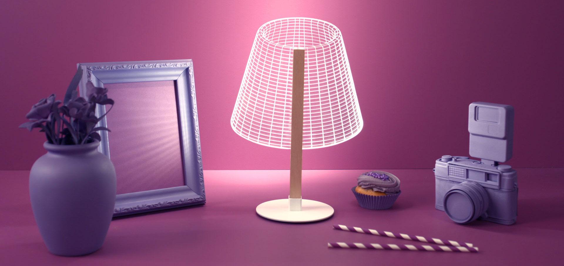 bubling_lampe_3D_optique_led_home
