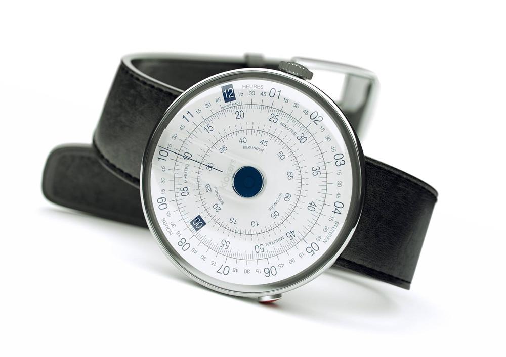 Klokers KLOK-01 la montre suisse rétro sur kickstarter