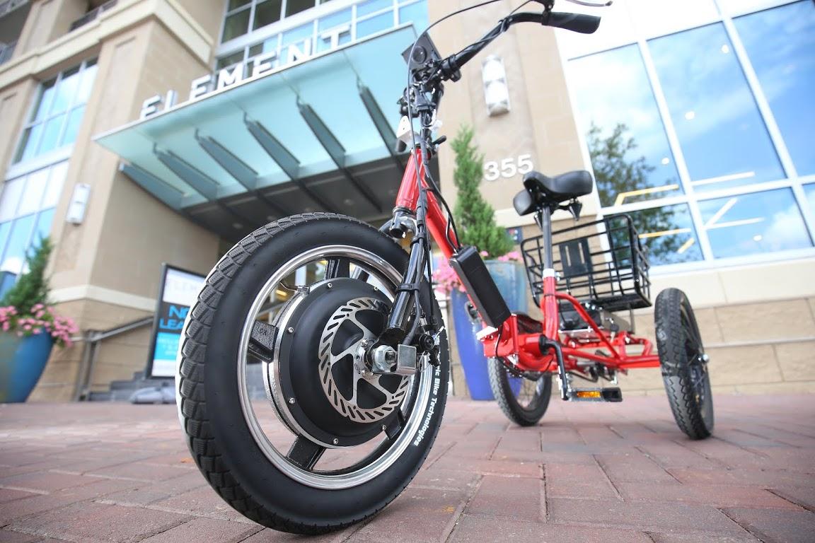 Un tricycle lectrique pour les grands enfants - Tricycle couche electrique ...