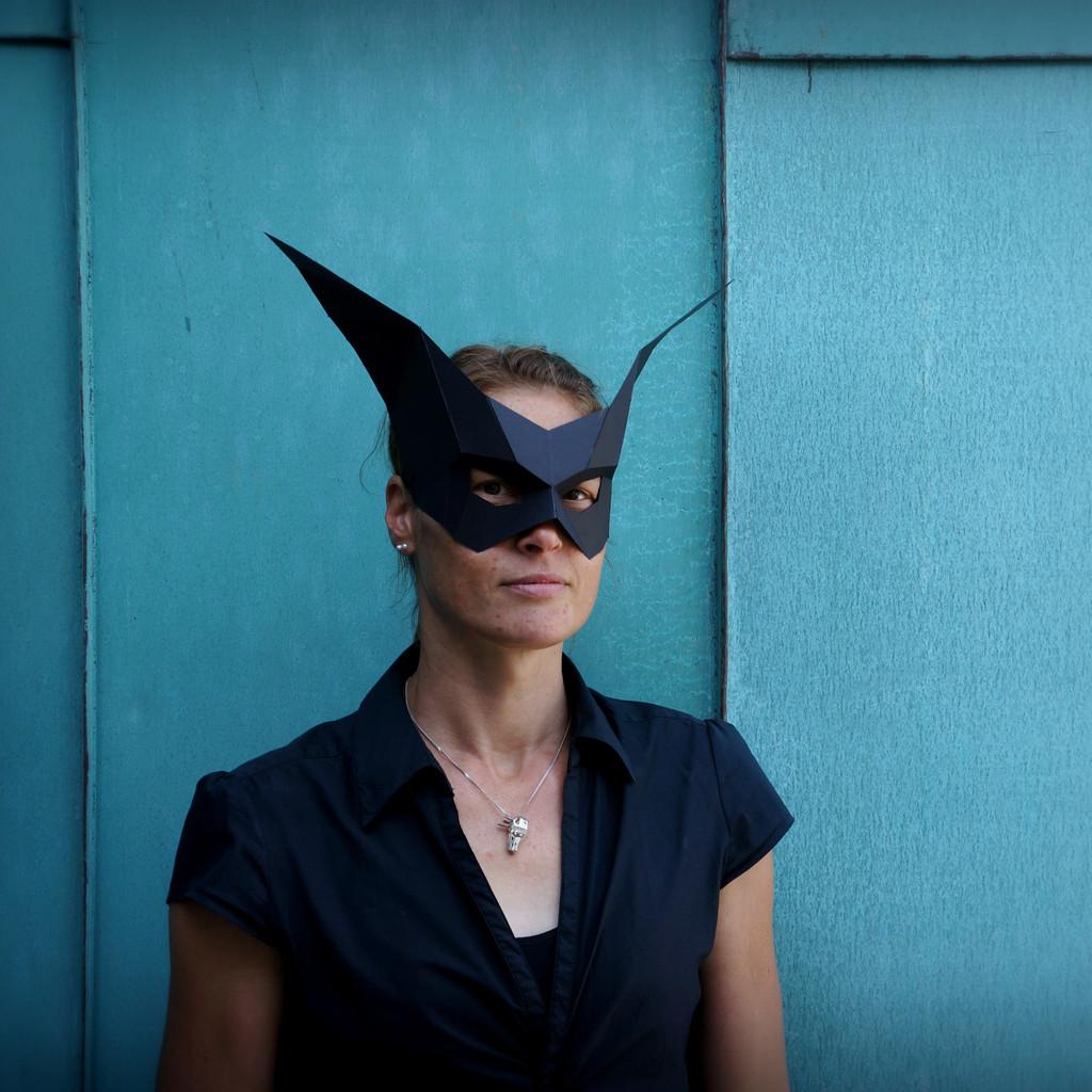 masque halloween origami 01