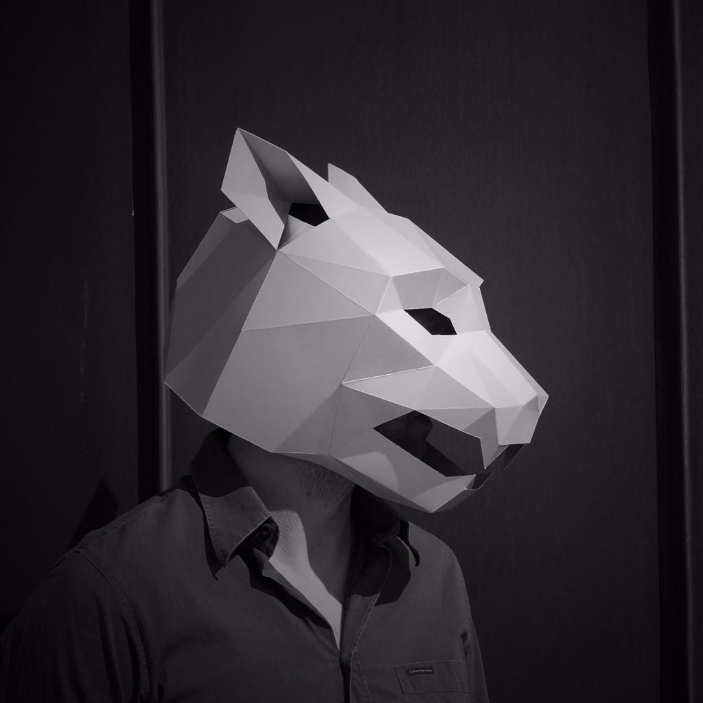 masque halloween origami 06