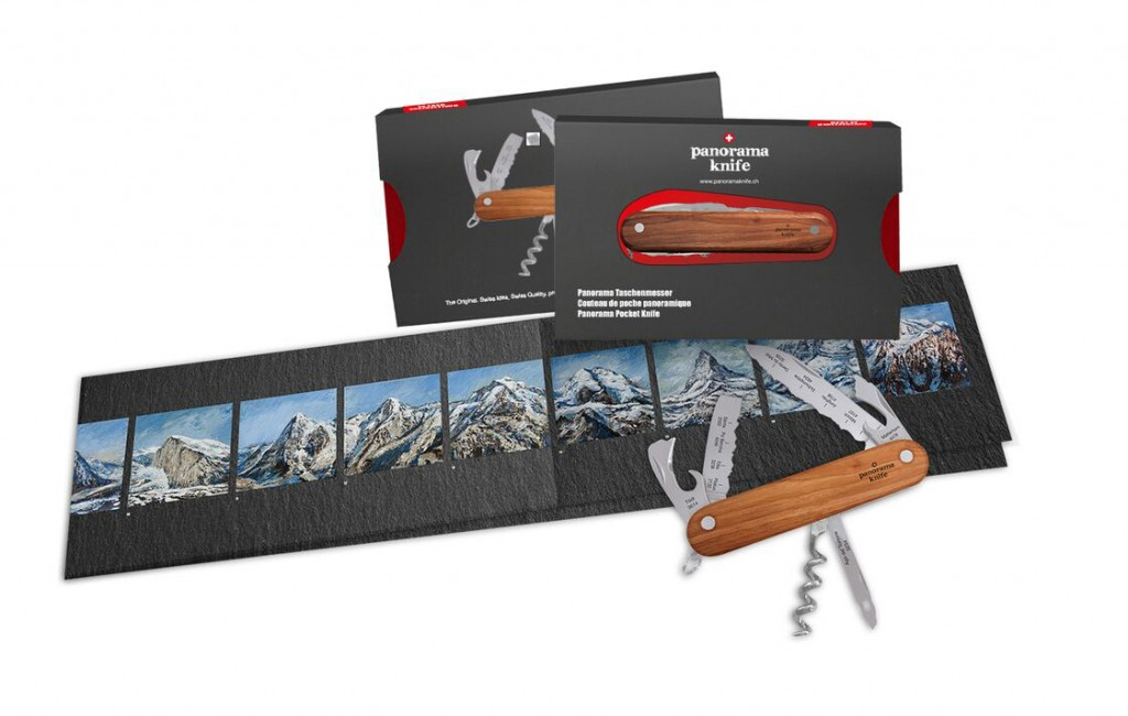 panorama knife couteau suisse montagne