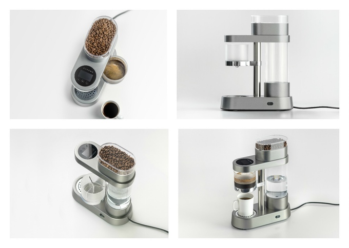 auroma one machine a cafe connectee kickstarter cdc 01