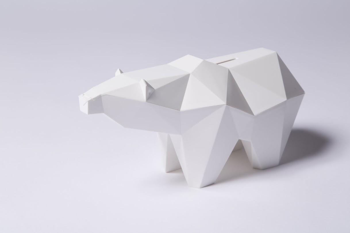 koguma ours tirelire impression 3D kickstarter cdc home