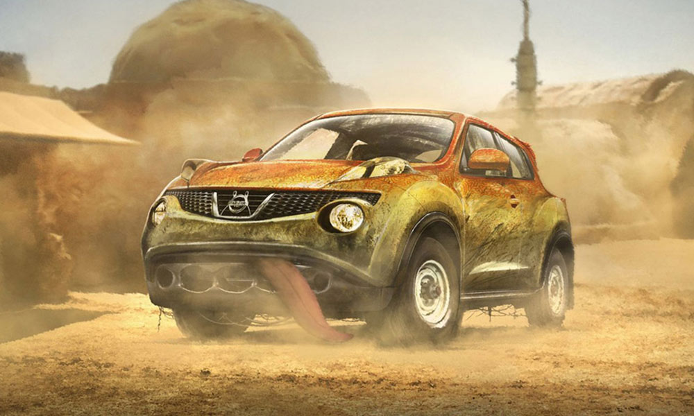 star wars voiture personnage juke chasseursdecool