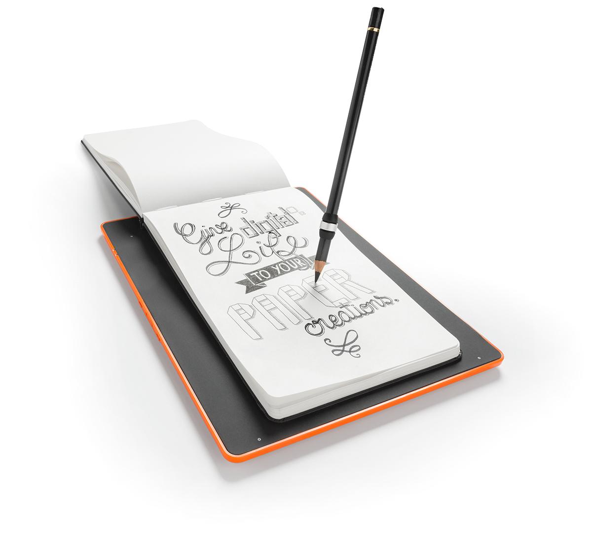 iskn_slate_orange_ring_on_pencil