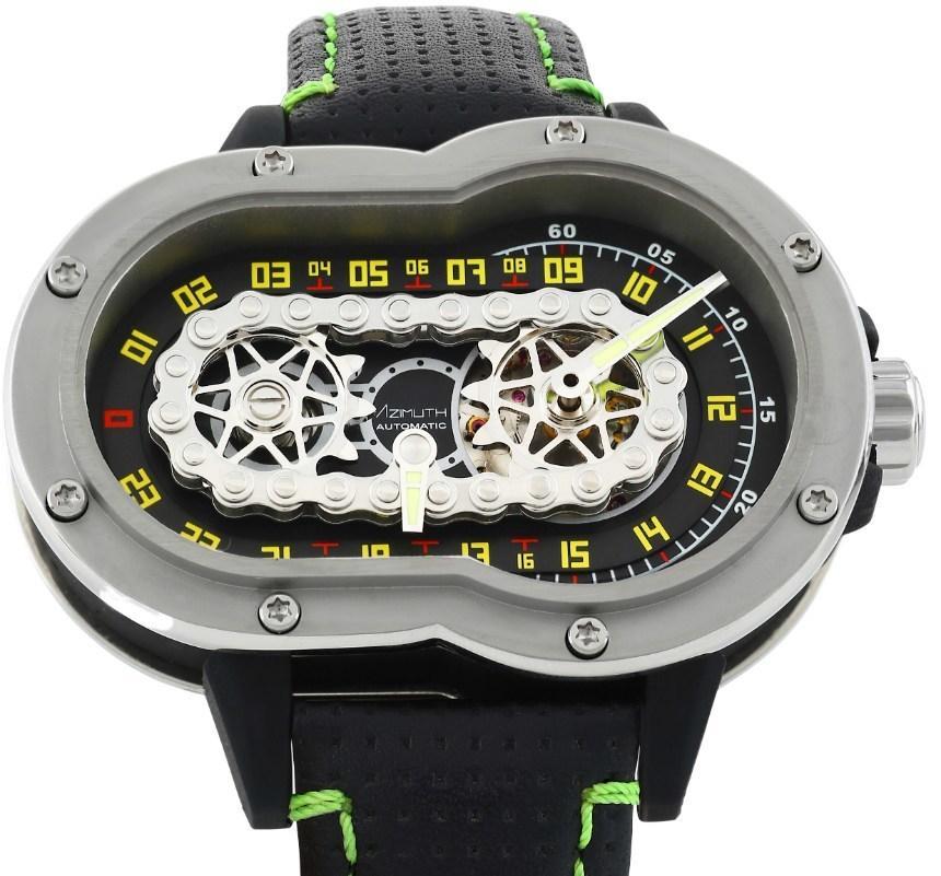 a96d557248 Azimuth SP-1 Crazy Rider : la montre des motards