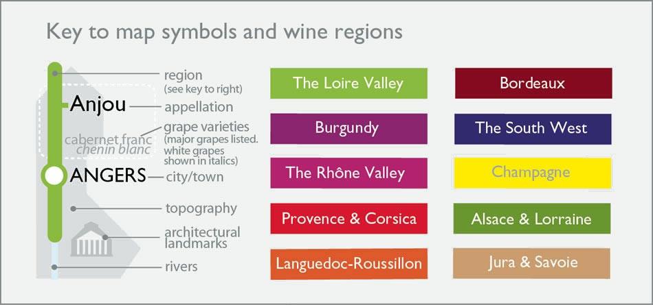 Metro-Wine-Map-of-France-Detail-Key