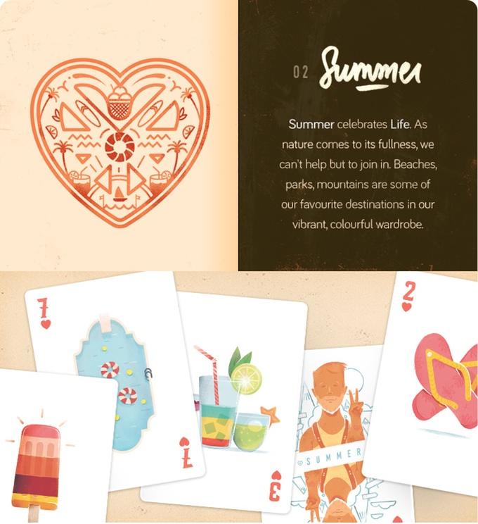 the season pass carte de jeu thematisées graphisme 04
