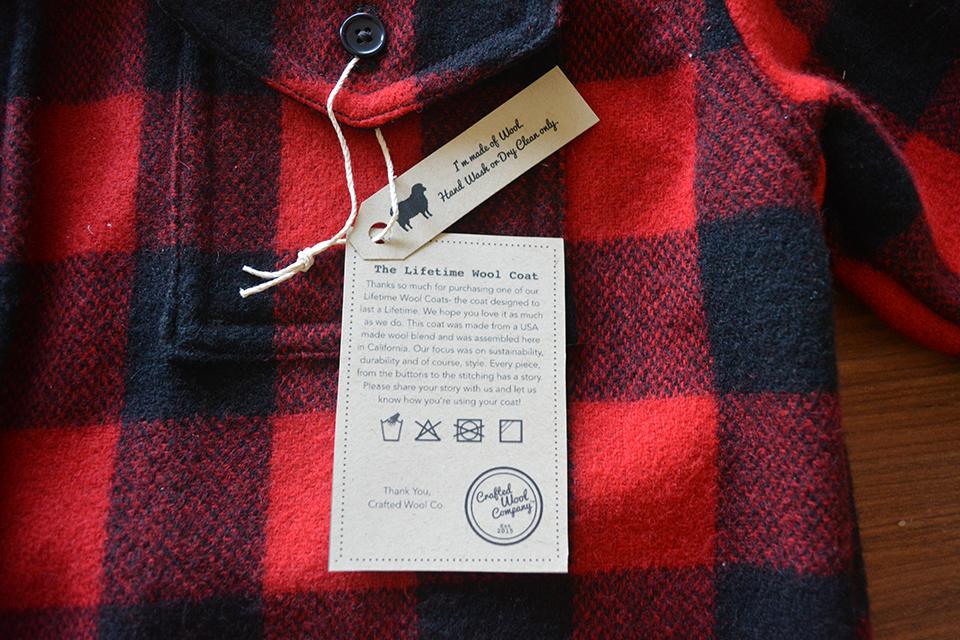 crafted wool chemise carreaux garantie à vie 02