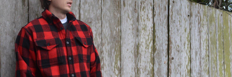crafted wool chemise carreaux garantie à vie home