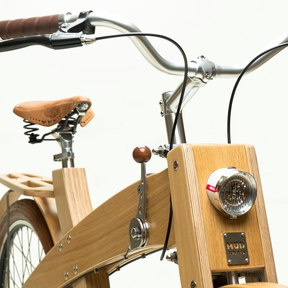 velo bois MUD wood selle cuir projet 01