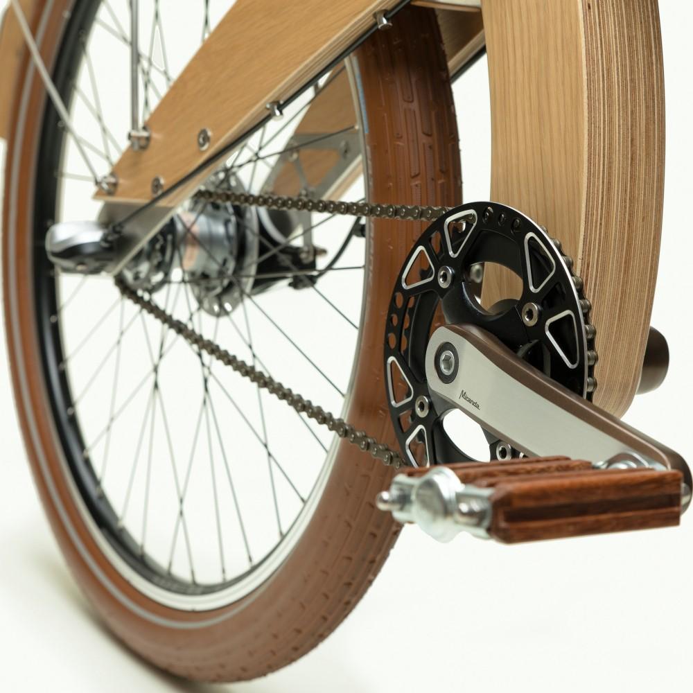 velo bois MUD wood selle cuir projet 03