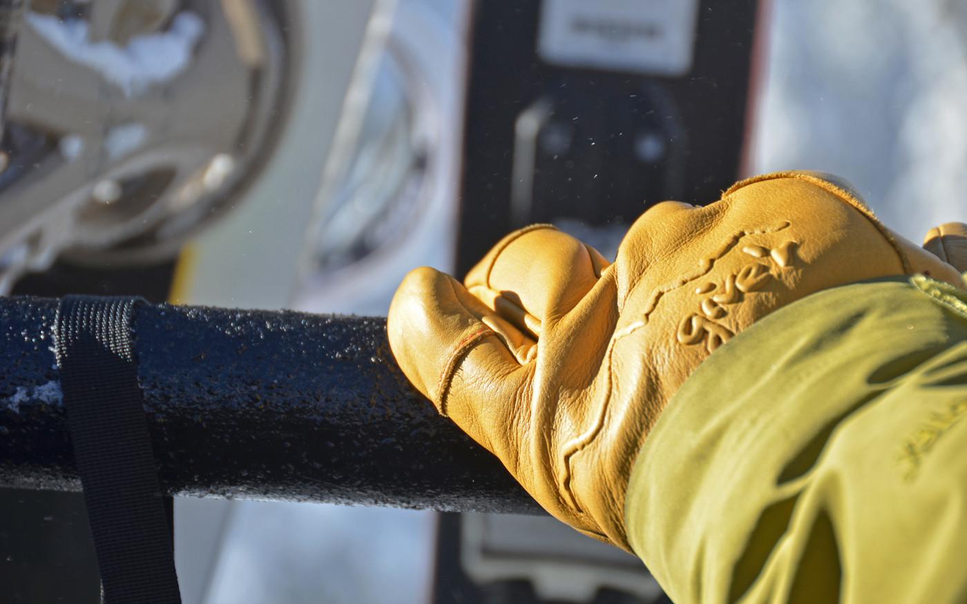 gants cuir give r impermeable feu froid saison home