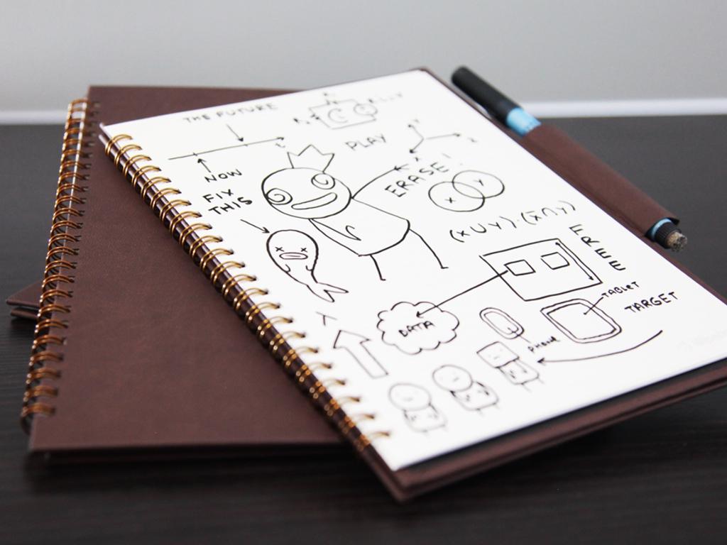 wipebook pro carnet a dessin ardoise home