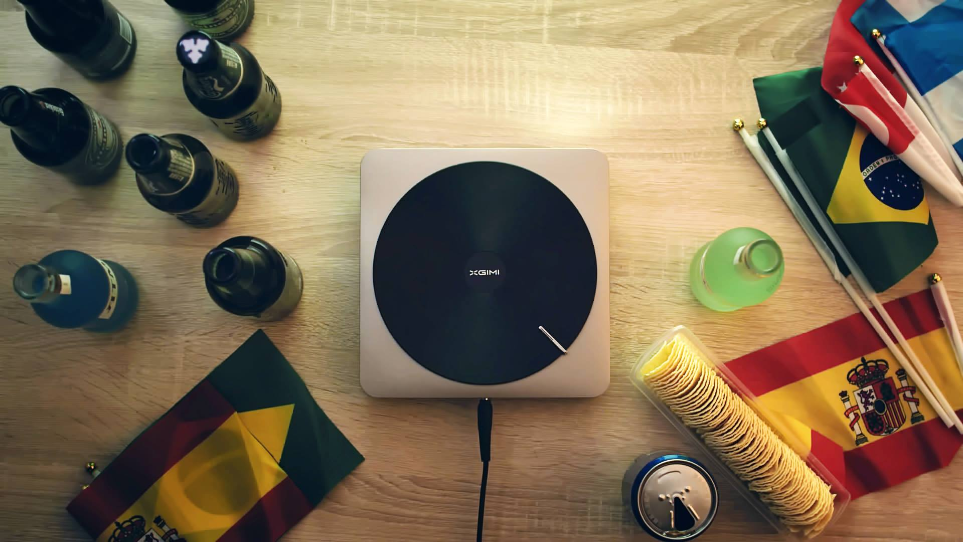 xgimi Z4 aurora video projecteur indiegogo crowdfunding 4k home