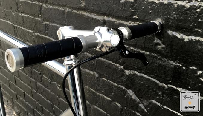 lumineer phare vélo avant intégré cadre stable 01