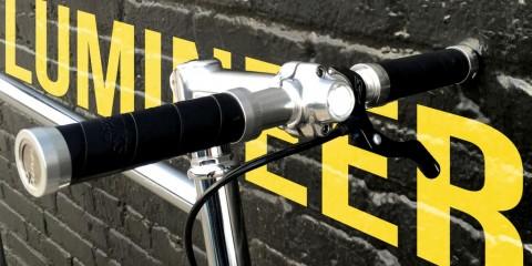 lumineer phare vélo avant intégré cadre stable home