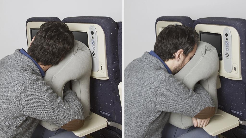 woolip coussin avion dormir home