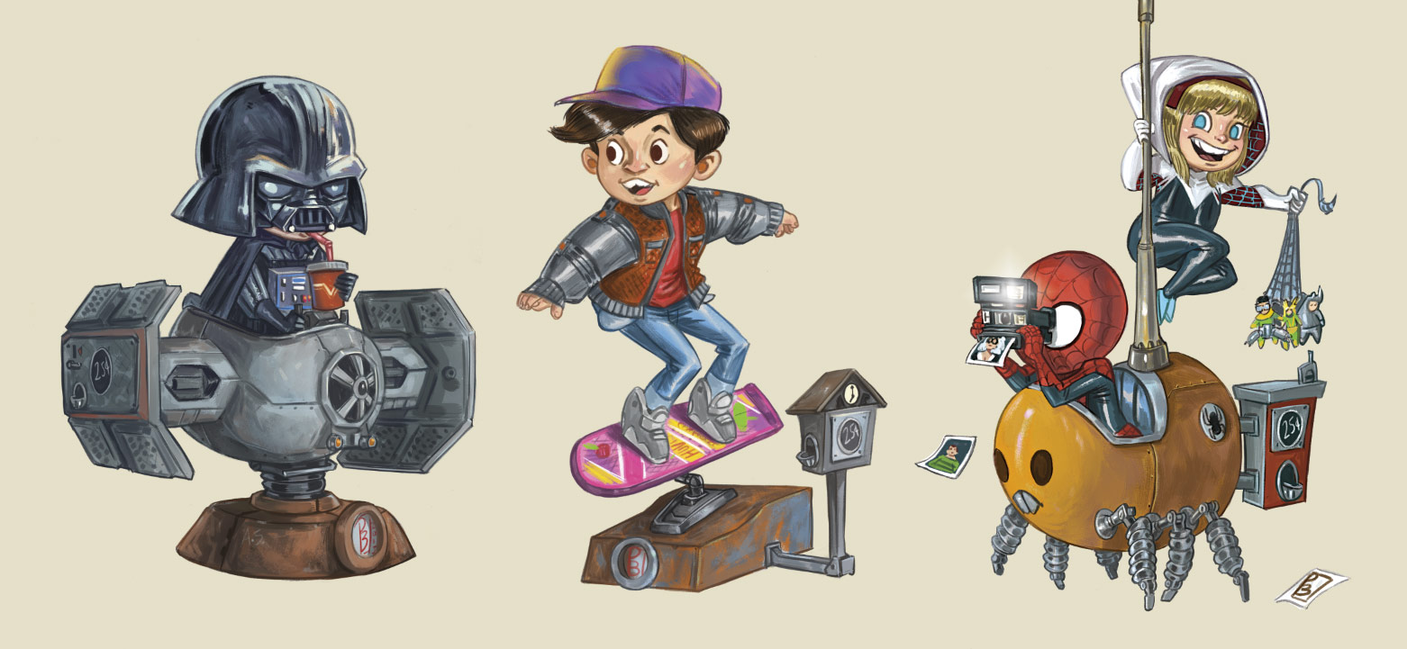 héros-pop-culture-enfants-illustration-patrick-ballesteros-home