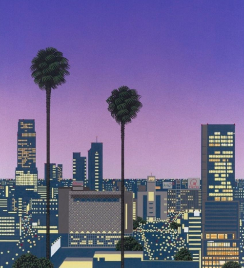hiroshi-nagai-peinture-huile-jaquette-musique-pop-japonaise-07
