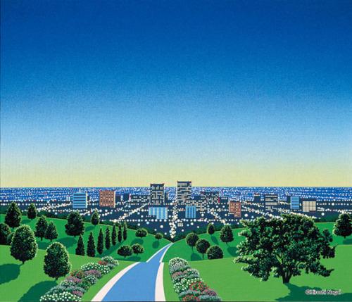 hiroshi-nagai-peinture-huile-jaquette-musique-pop-japonaise-08