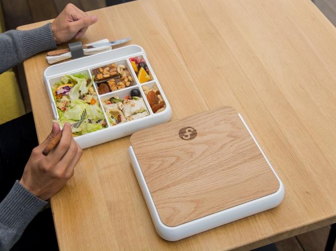 fittbo la lunchbox thermo isol e et compartiment e. Black Bedroom Furniture Sets. Home Design Ideas