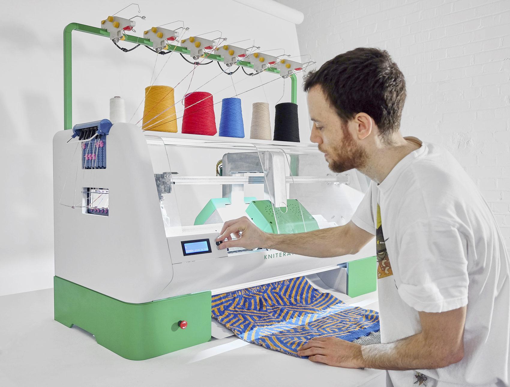 tricoter a la machine