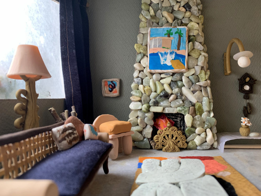 Clay Play, un challenge créatif pour simuler le salon de ses rêves.